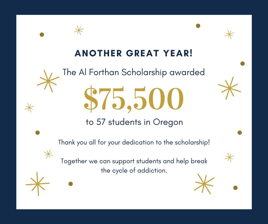 Al Forthan 2018 amount awarded