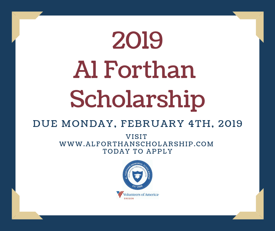 2019 scholarship due date